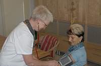 Optimale Versorgung bei der Hauskrankenpflege Schwester Gabi